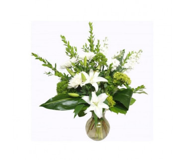The bouquet Whiteness Wintry